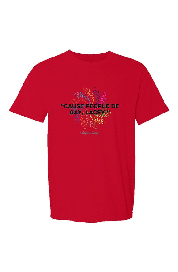 SMF Red Lacey Crew T-Shirt