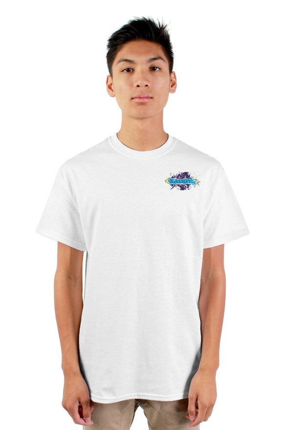 SMF Plain Xaddy Embroidered Masculine Tee