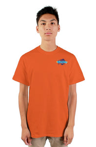 SMF Orange Xaddy Embroidered Masculine Tee