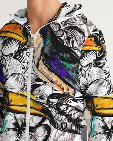 Tropical Toucan Windbreaker