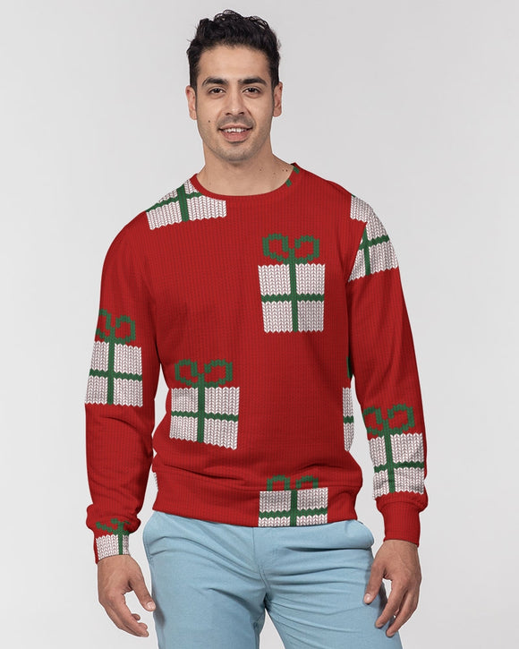 A Gift For You Masculine French Terry Crewneck Pullover