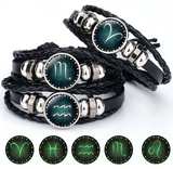 SMF Luminous 12 Constellation Charm Bracelet