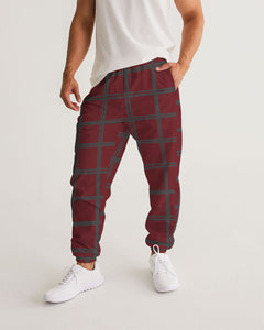 Love Red Masculine Track Pants