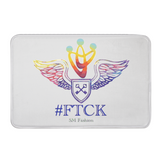 #ftck Bath Mat White / 31X 20