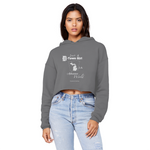 SMF D-Town Girl AR World Cropped Hoodie