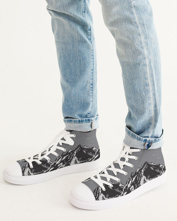 SMF Snow Mountain Masculine Hightop Canvas Shoe