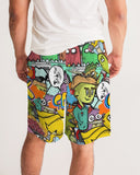 Crowded Street Masculine Jogger Shorts