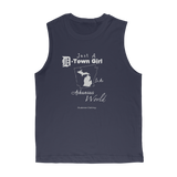 SMF D-Town Girl AR World Muscle Tee