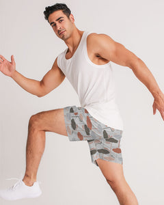 Cloudy Masculine Jogger Shorts