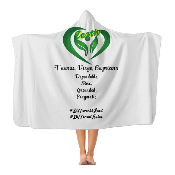 SMF Earth Gang Hooded Blanket