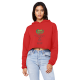 SMF Earth Gang Unisex Cropped Hoodie