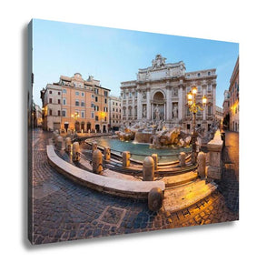 Gallery Wrapped Canvas, Trevi Fountain Rome