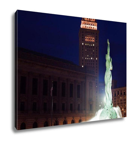 Gallery Wrapped Canvas, Landmarks Of Cleveland