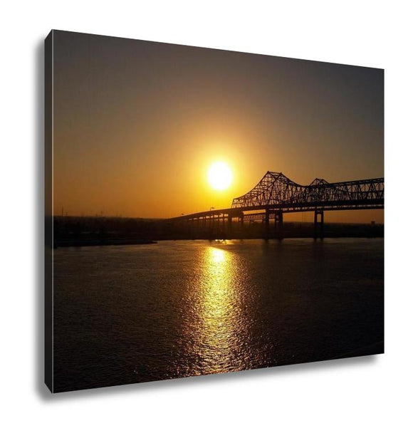 Gallery Wrapped Canvas, New Orleans Sunrise