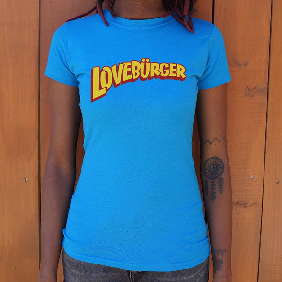 Loveburger T-Shirt (Ladies)