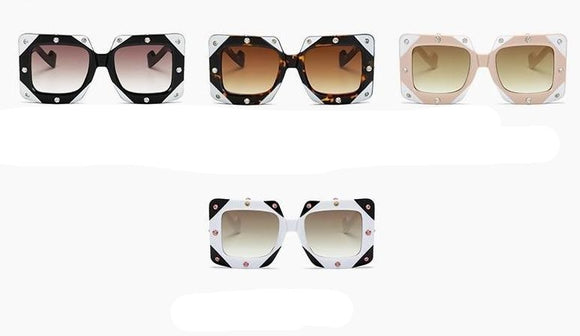 SMF LK Diamond Frame Sunglasses
