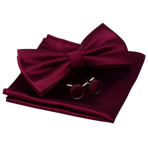 SM Fashion 3pc Pre-tied Bowtie Set