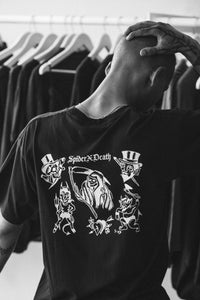 Spider Death 'Welcome to hell', black tee