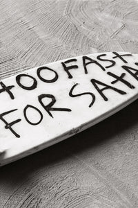 'Too Fast For Satan' Art Print