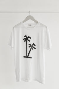 Palm Tree T-shirt White