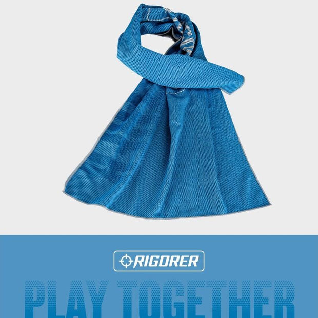 Rigorer Cooling Sports Towel Rigorer Cerulean Blue ONE SIZE