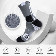 Rigorer Striped Comfort Basketball Socks Rigorer