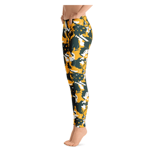 Green Bay Lambouflage Leggings