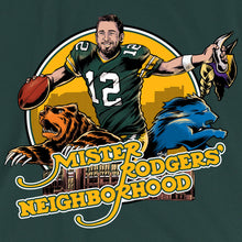 Mister Rodgers' Neighborhood Green Bay Packers Tee