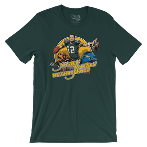 Mister Rodgers' Neighborhood Green Bay Packers T-shirt