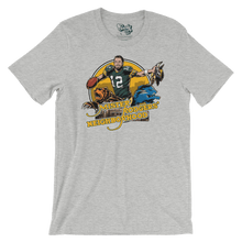 Mister Rodgers' Neighborhood Green Bay Packers Athletic Heather T-shirt