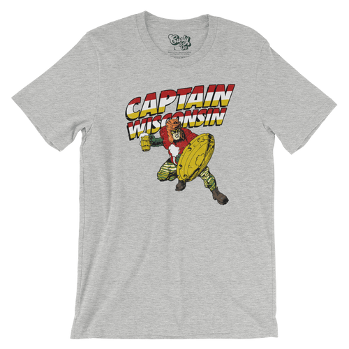 Captain Wisconsin Superhero T-Shirt