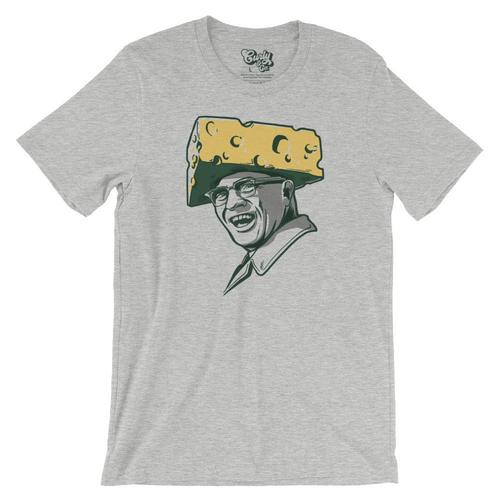 Green Bay Packers Cheesehead Vince Lombardi T-shirt