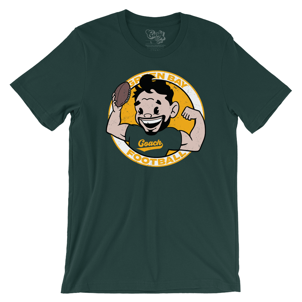 Coach LaFleur Packers Average Joe T-Shirt