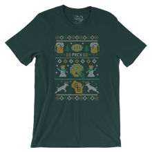 Green Bay Packers Holiday Pattern T-Shirt
