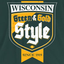 Green Bay Packers Green & Gold Style Tee