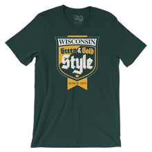 Green Bay Packers Green & Gold Style T-Shirt