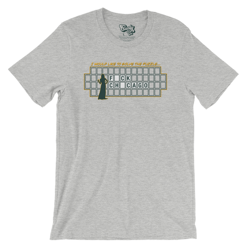Fuck Chicago Wheel of Fortune T-Shirt