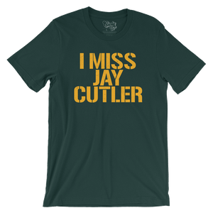 Green Bay Packers Chicago Bears I Miss Jay Cutler Tee
