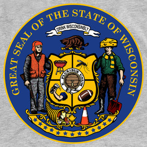New Great Seal of the State of Wisconsin T-Shirt