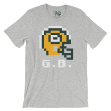 8-Bit Retro Green Bay Packers Helmet T-Shirt