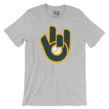 Retro Green & Gold Glove Tee