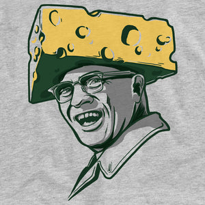 Green Bay Packers Cheesehead Vince Lombardi Tee