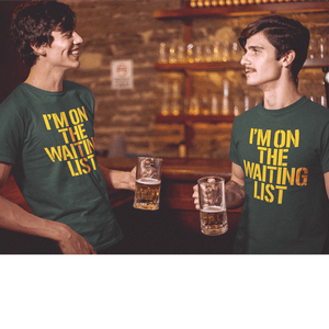 I'm on the Green Bay Packers Season Ticket Waiting List Tee