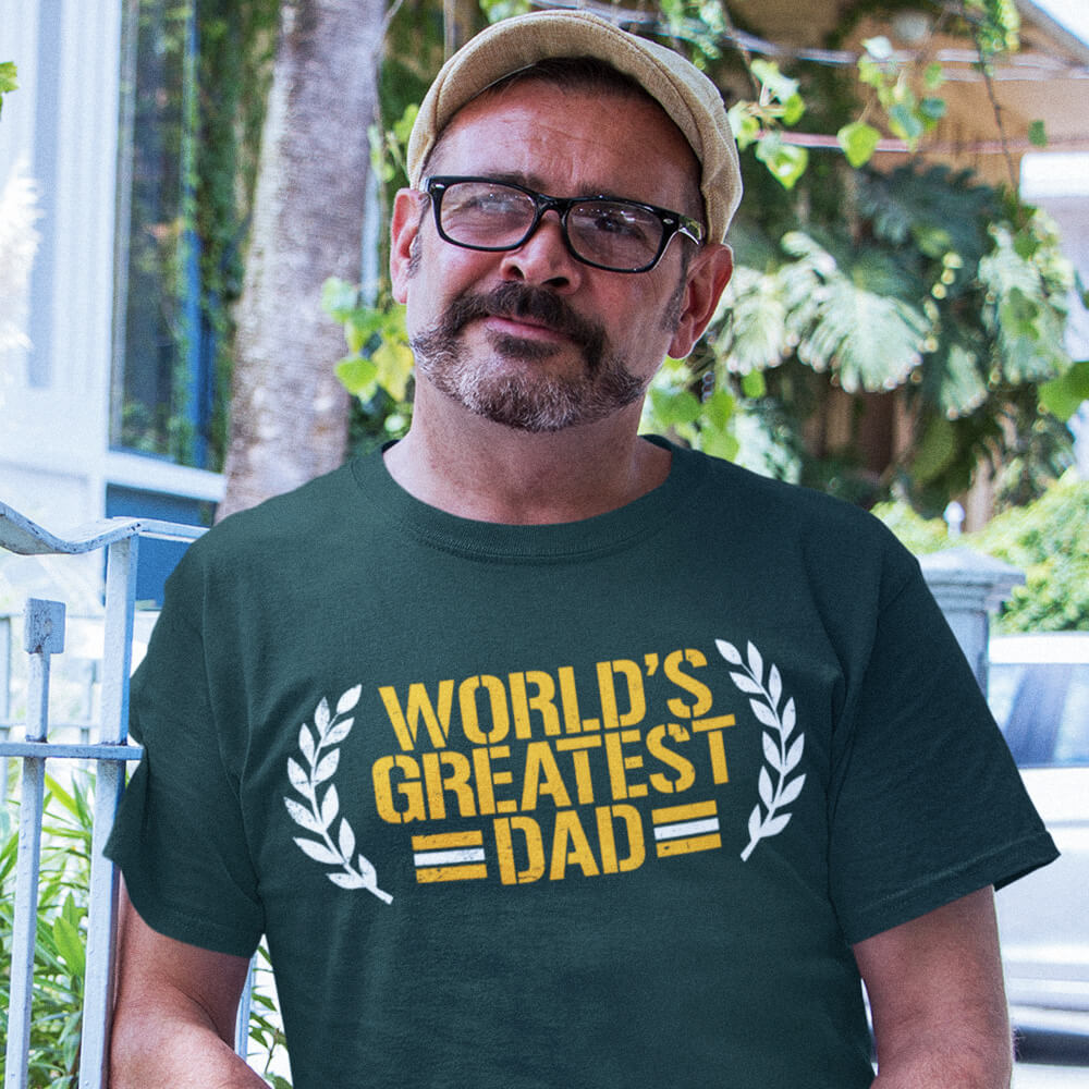 Green Bay Packers World's Greatest Dad T-Shirt