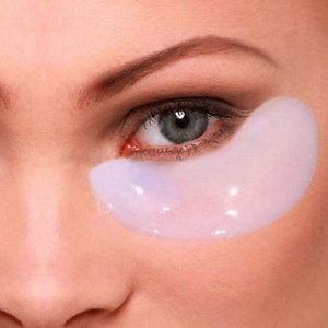 CRYSTAL COLLAGEN EYE MASK (15 pairs) - Luxurious all-natural treatment for dark circles and fine lines with 10X Absorption Formula.