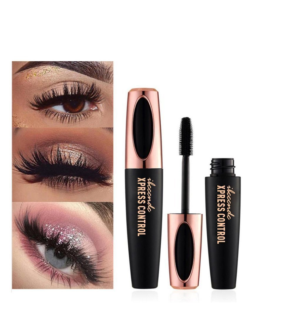 4D SILK FIBER LASH MASCARA - Get an Unbelievable Boost for your lashes with this Water & Smudge-Resistant Magnifying Gel that provides amazing volume, separation, and length.