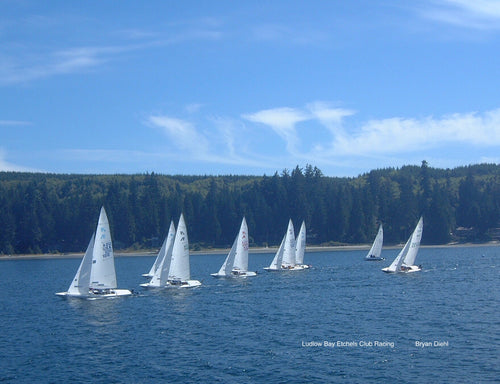 Etchels Club Racing on Ludlow Bay