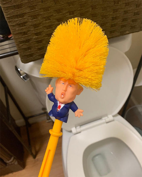 Trump's 'Make Your Toilet Great Again' Toilet Brush