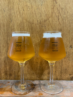 Hop Nation Beer Glasses - pair