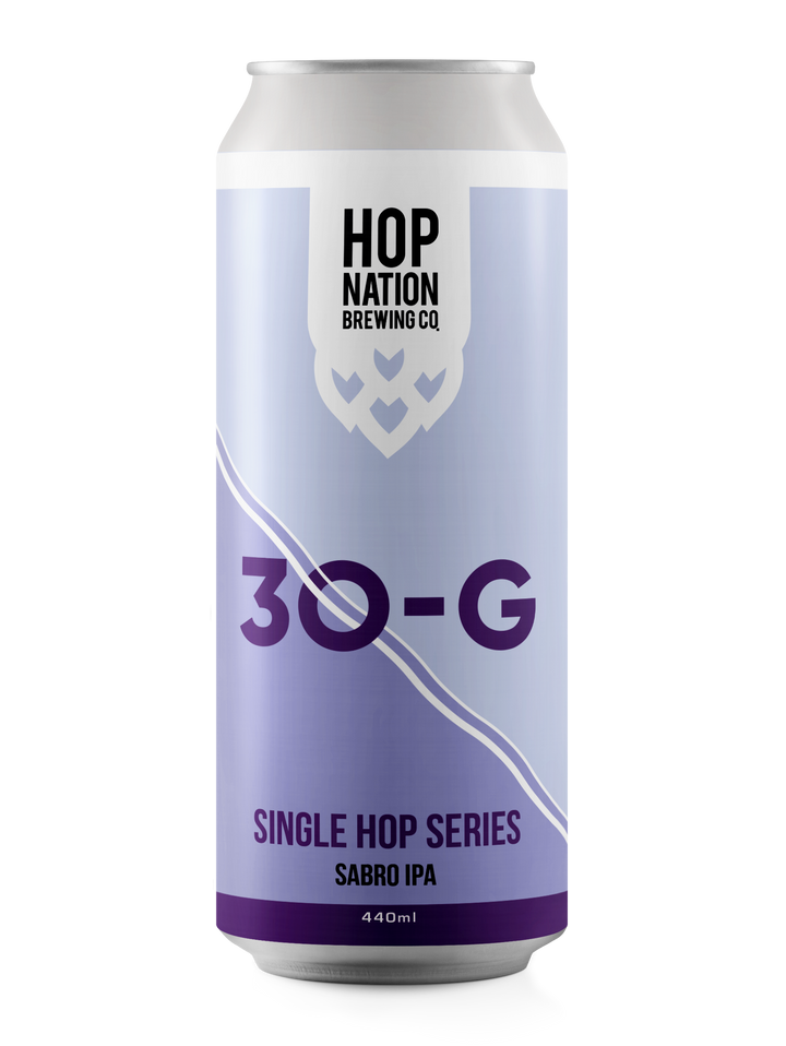 30-G Single Hop Series - Sabro IPA